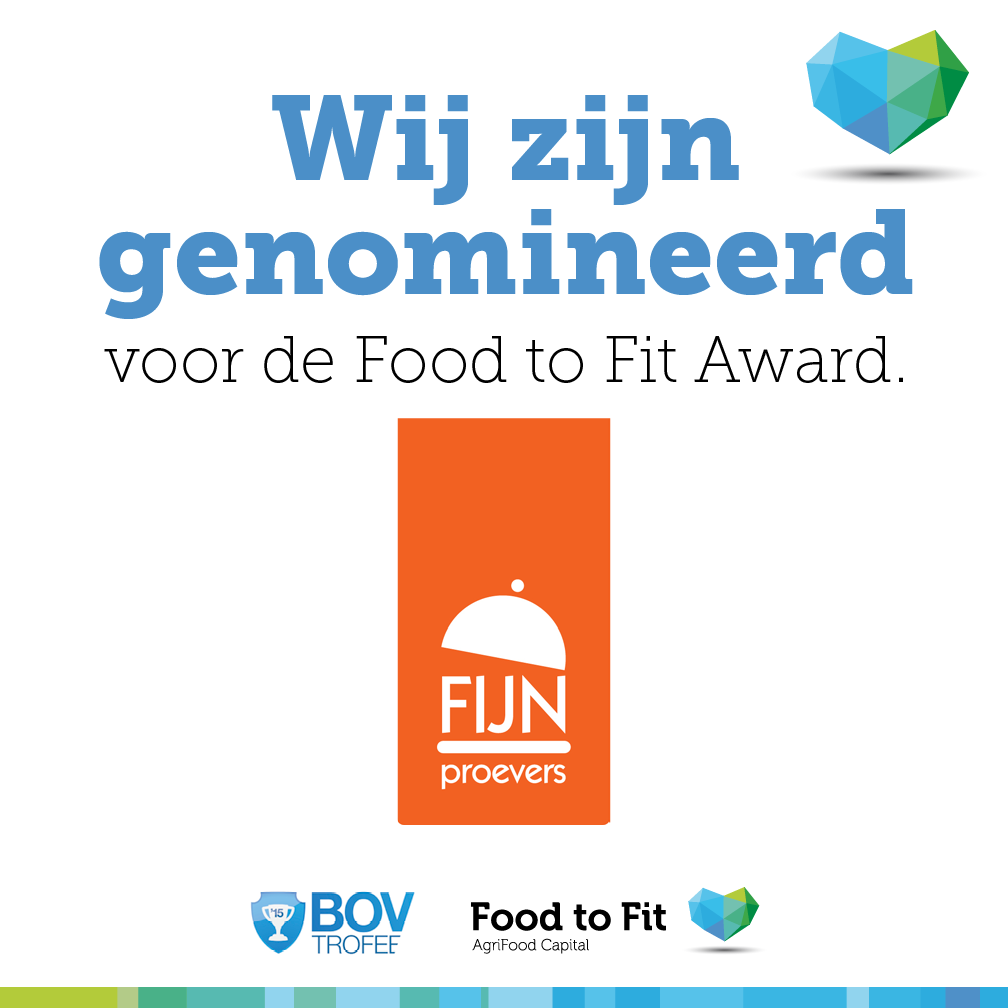 Fijnproevers Food to Fit Award