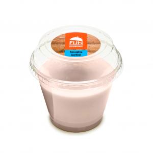 Smoothie aardbei voor slikproblemen eiwitverrijkt van fijnproevers productfoto