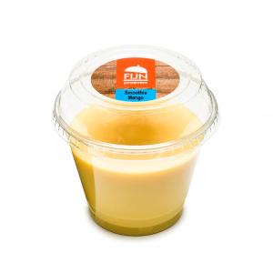 Smoothie mango voor slikproblemen eiwitverrijkt van fijnproevers productfoto