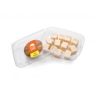 Snacks kipblokjes voor slikproblemen eiwitverrijkt van fijnproevers productfoto