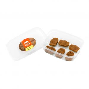 Snacks koekjes voor slikproblemen eiwitverrijkt van fijnproevers productfoto