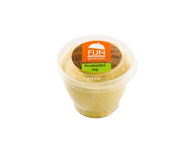 Tussendoortje kip mousse voor slikproblemen eiwitverrijkt van fijnproevers