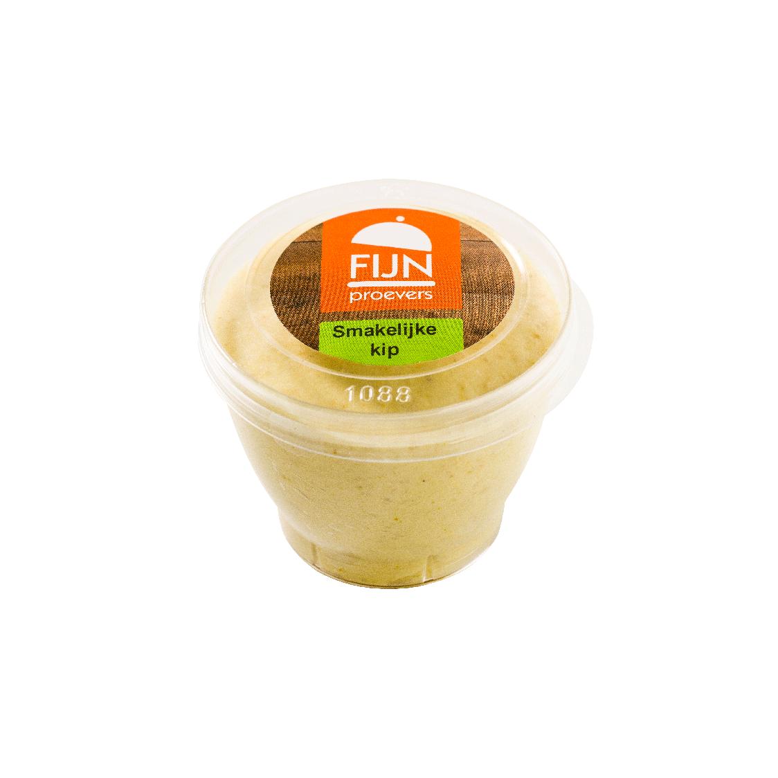 Tussendoortje kip mousse voor slikproblemen eiwitverrijkt van fijnproevers productfoto