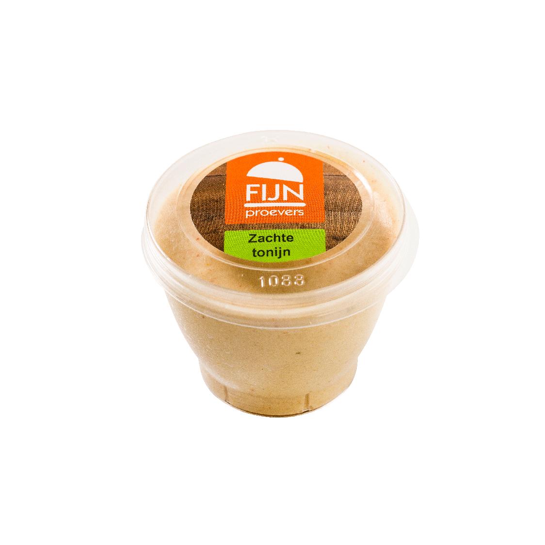 Tussendoortje tonijn mousse voor slikproblemen eiwitverrijkt van fijnproevers productfoto