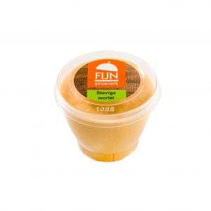 Tussendoortje wortel mousse voor slikproblemen eiwitverrijkt van fijnproevers productfoto