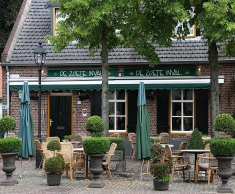 Restaurant de Zoete Inval Eersel 1998